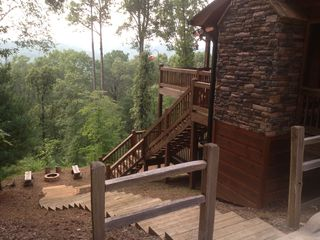Ellijay cabin photo - No one above!!