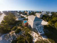 Private HEATED POOL & Pet Friendly! Gulf Views, Walking Distance to Beach, Beautiful Interior!