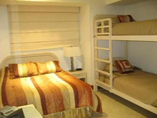 Ixtapa condo photo - Queen Bed in Spare Room With Bunks and Mountain Views