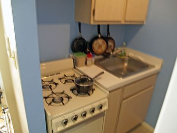 Stove and Sink