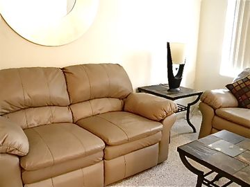 Lancaster Executive Condo with Leather Furniture