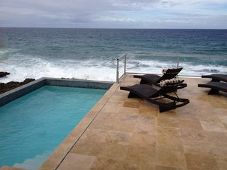 St. Croix villa photo - Relax by the Caribbean and the pool