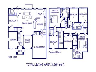 Emerald Island villa photo - Floor Plan