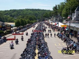 Weirs Beach condo photo - Laconia's Famous Bike Week