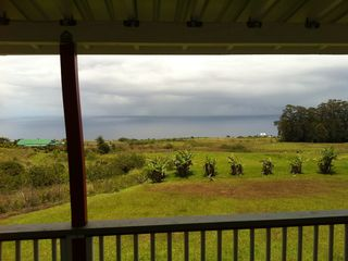 Ninole cottage photo - View from Lanai