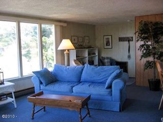 Living room complete with sleeper sofa - Lincoln City house vacation rental photo