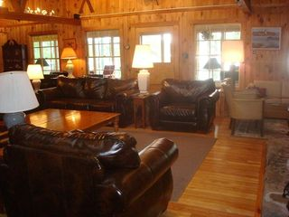 Raymond lodge photo - The Great Room provides comfortable seating for your whole family
