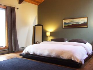 Ithaca lodge photo - Master bedroom with King Tempur-Pedic bed