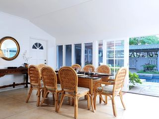 Kailua house photo - Dining area is a great place to enjoy a family dinner