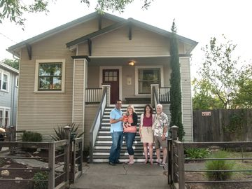Sacramento bungalow rental - Welcome to our home! Jessica, Steve & Gannon and Diane & John, owners