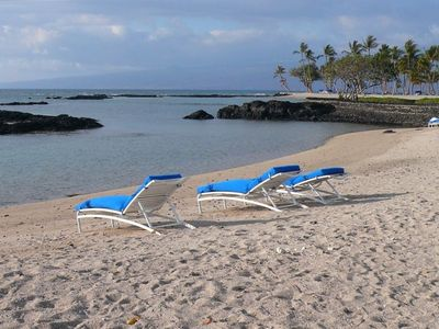 Walk to the Beach.  The Mauna Lani Resort Has Miles of Beachfront to Enjoy.