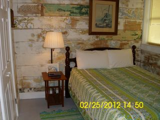 Tybee Island house photo - Sanded bedroom, queen