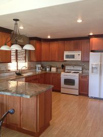 Grover Beach condo rental - Fully remodeled and equipped kitchen with granite tops.