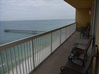 Calypso Resort condo photo - Watch the dolphins from the wrap around balcony