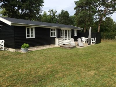 Family friendly cottage at good beach, close to the swimming pool and amusement park