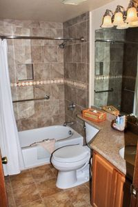 Master Bathroom at The Heidelberg Inn