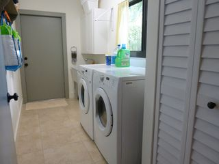 Boca Raton villa photo - Laundry area – equipped with full size washer/dryer.