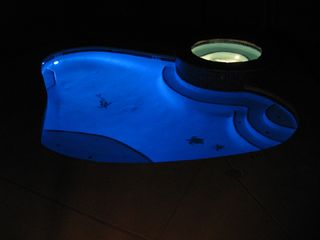 South Padre Island house photo - Custom Pool with Color Changing Light Show