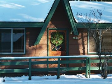 Evergreen Estates cabin rental - Ski Season at 'The Double B'