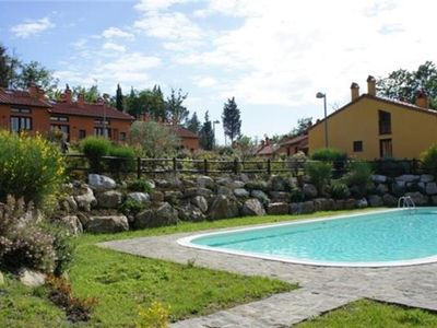 Apartment for 4 people, with pool, in San Gimignano