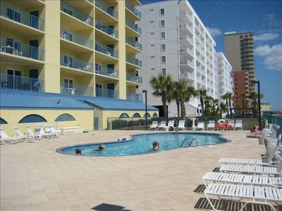 965 West Beach Building  pool (heated)