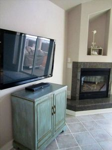 Flat screen TV's in living area and all 3 sleeping areas / bedrooms