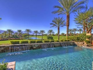Indian Wells property rental photo - pool and view from backyard
