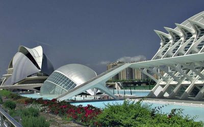 The City of Science and Arts in Valencia