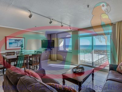 Seahorse unit H. Gulf-front 3 bedroom/3 bath Townhouse; Sleeps 10. Free WiFi