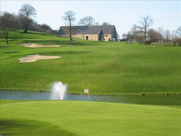 View of the golf course near the lake (10 minutes away)