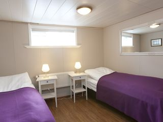Reykjavik house photo - Ground floor bedroom, with 2x90cm beds, can be moved together for one king size