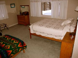 Durango house photo - West Bedroom, Lower Level (Queen + 2 twins)