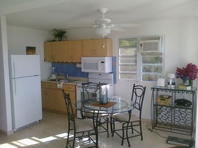 Culebra house rental - Fully Equipped Kitchen with Range / Microwave