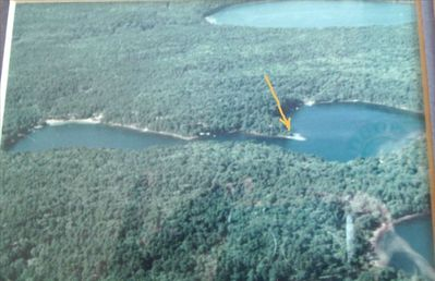 Aerial View of the Point, Long Pond.