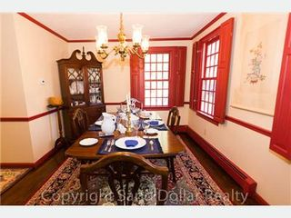 East Sandwich house photo - formal dining room