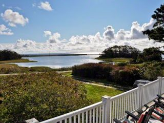 Oak Bluffs cottage photo - Martha's Vineyard Vacation Rentals Waterfront Home Oak Bluffs: The Dramatic View From The Second Story Deck