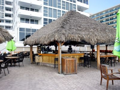 Tiki bar BEFORE it was upgraded.