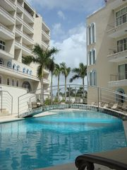 Cupecoy condo photo - Another swimming Pool!!