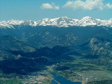 THE ESTES VALLEY - LOOKING WEST