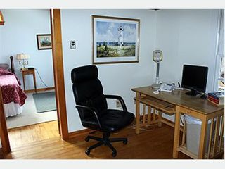 Chappaquiddick house photo - Office off Master