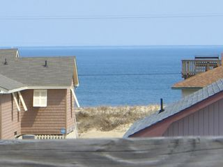 Kitty Hawk cottage photo - Ocean View from one of three decks