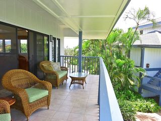 Poipu condo photo - Oversized covered lanai