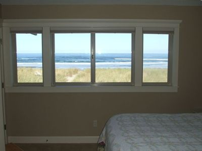 The view from the Master bedroom is equally phenomenal and serene.