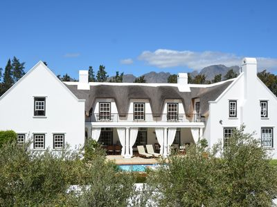 Your African home of distinction set amongst cape vineyards
