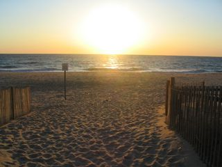 Sunrise on Beach - Bethany Beach townhome vacation rental photo
