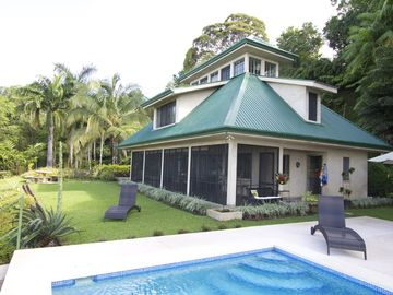 4 bedroom spacious villa surrounded by a landscaped tropical garden