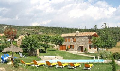 Gironella villa rental - Casa Monica is a great holiday home for 13+4 guest