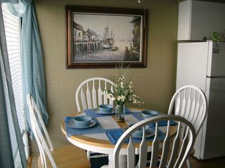North Wildwood condo photo - dinette with leaf that accommodates more seating