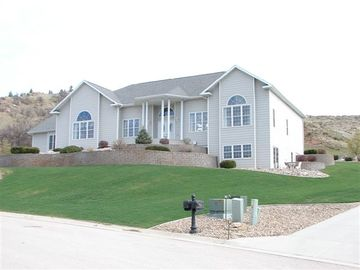 Spearfish house rental - View of our home from paved street