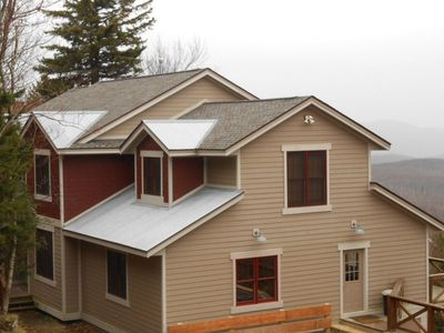 Snowshoe Mountain house rental - Exterior...modern alpine. EPIC views!